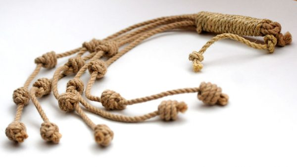 Traditional style discipline with Capuchin knots-0