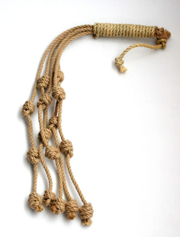 Traditional style discipline with Capuchin knots-68