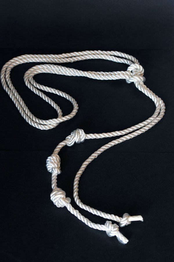 An authentic cord or 'Cincture' of St Francis beautifully made for Cilice.co.uk -94
