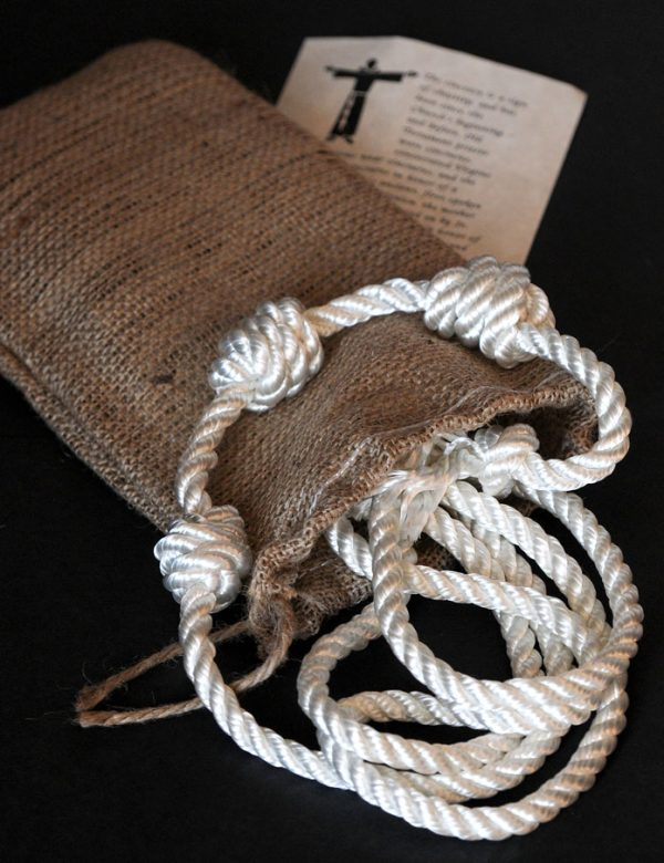 An authentic cord or 'Cincture' of St Francis beautifully made for Cilice.co.uk -0