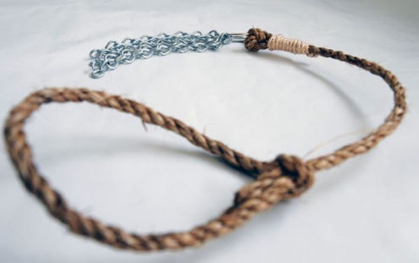 Heavy-weight chain and manilla rope discipline-64