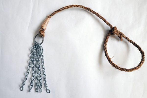 Heavy-weight chain and manilla rope discipline-65