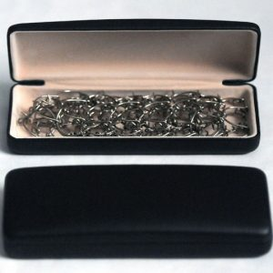 Leather look Case will fit any of our half or full leg Cilice up to 1.25mm gauge-0