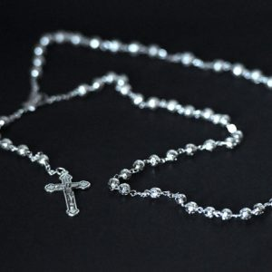 Metal filigree Rosary-0