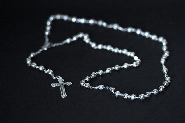 Metal filigree Rosary-0