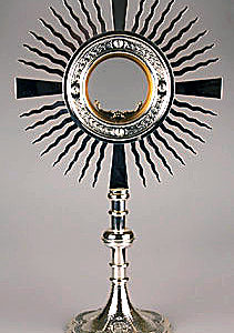 Monstrance/Silver Finish-0
