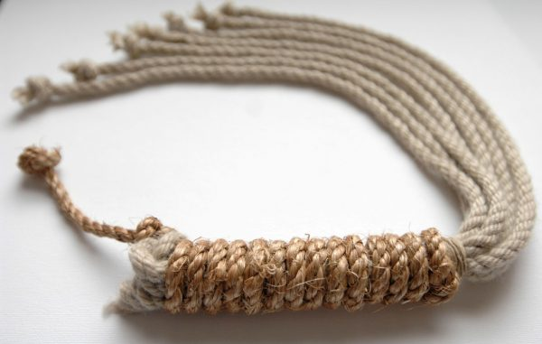 Hemp and Manilla rope discipline with seven tails-70