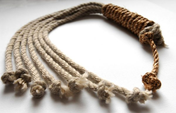 Hemp and Manilla rope discipline with seven tails-0