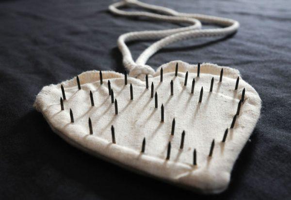Sacred Heart Cilice handmade by Italian nuns-0