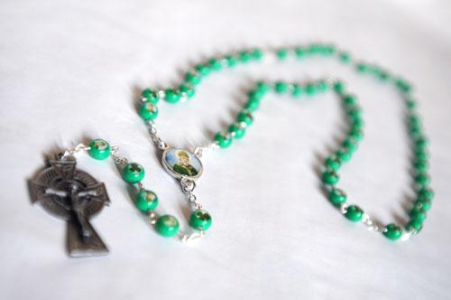 St Patricks Rosary from Ireland-0