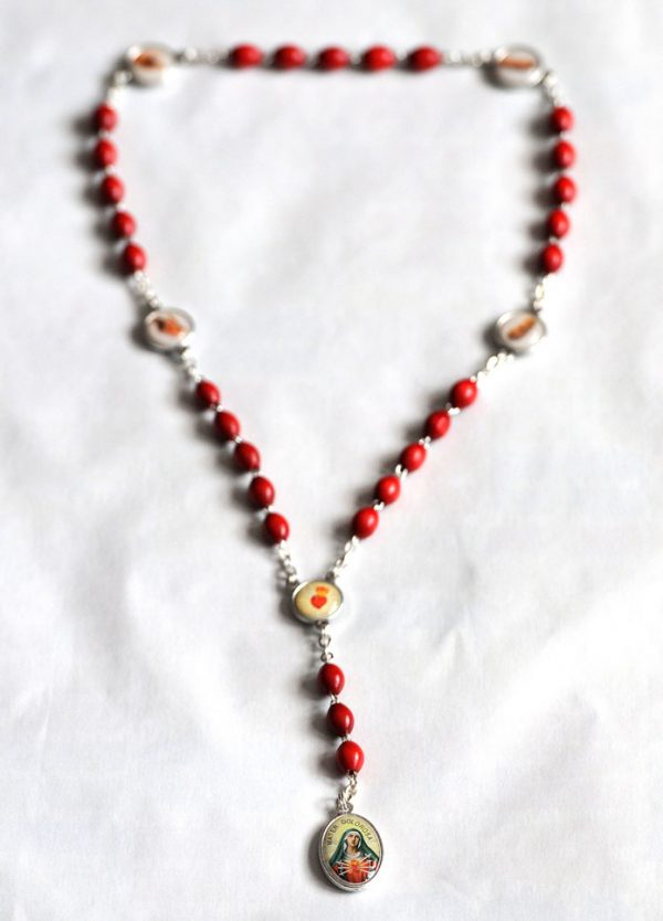 Wounds of Christ Rosary....OUT OF STOCK-0