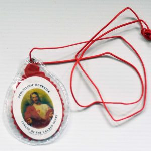 RED Sacred Heart Scapular-0