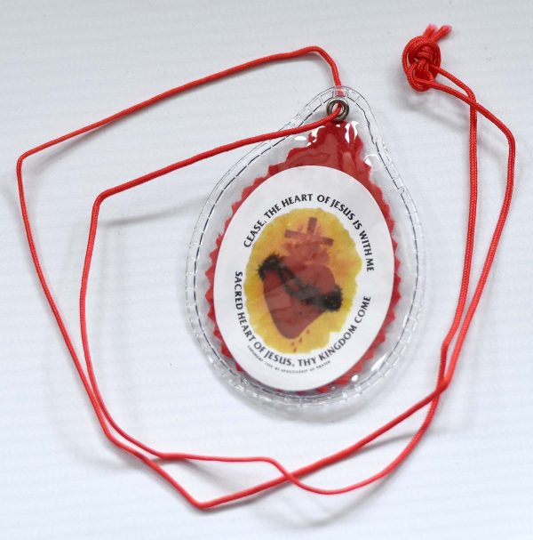 RED Sacred Heart Scapular-199